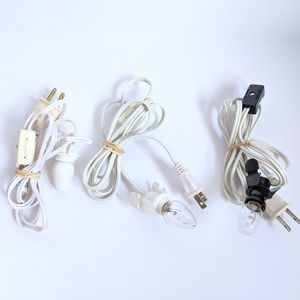 3-PC Village Light Cords w/Bulbs